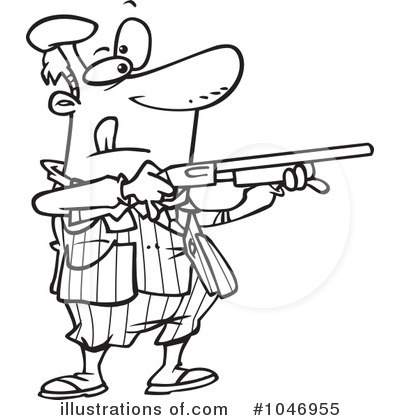 Clay Shooting Clip Art.