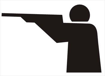 Clip Art Shooting Target Clipart.