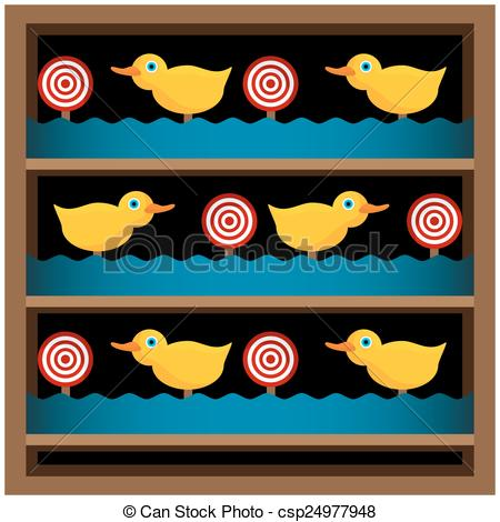 EPS Vector of Shooting Gallery.