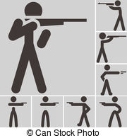 Shooting sports Stock Illustration Images. 13,395 Shooting sports.