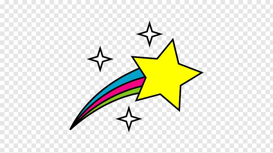 Shooting Star, Shooting Stars, Drawing, Line, Logo, Symbol.