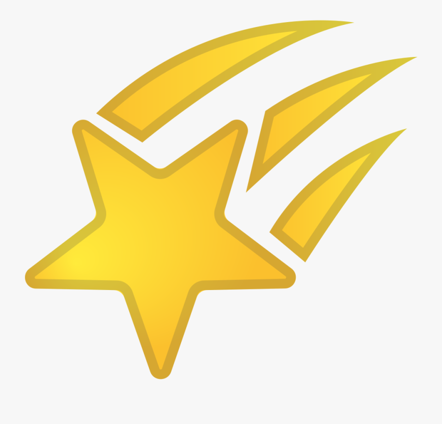 Shooting Star Icon.