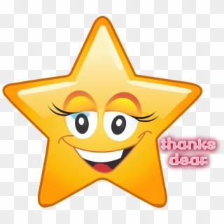Free Star Emoji Png Transparent Images.