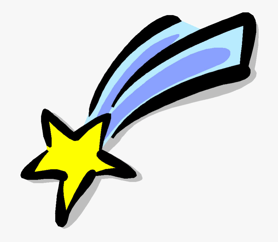 Shooting Star Clipart Space Drawing.