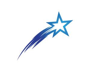 Shooting Star Logo photos, royalty.