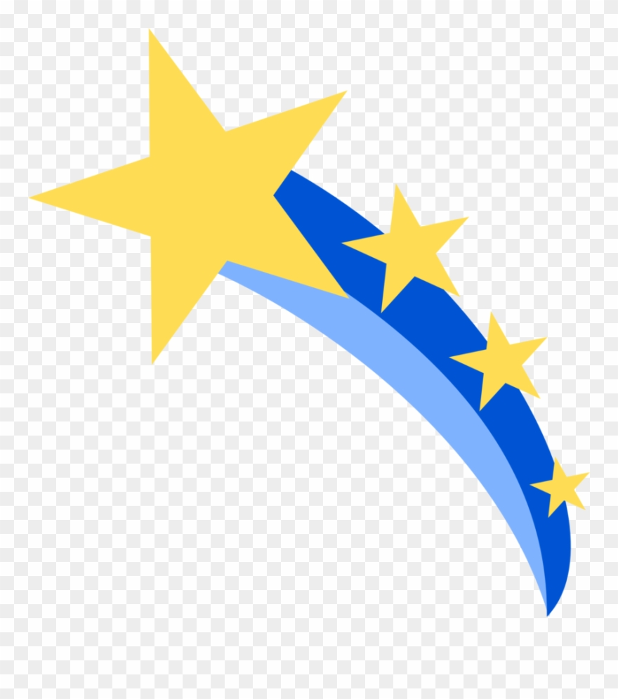 Shooting Star Vector Png.