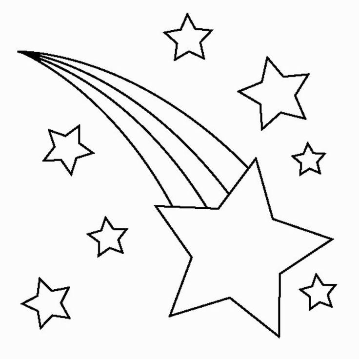 301 Shooting Stars free clipart.