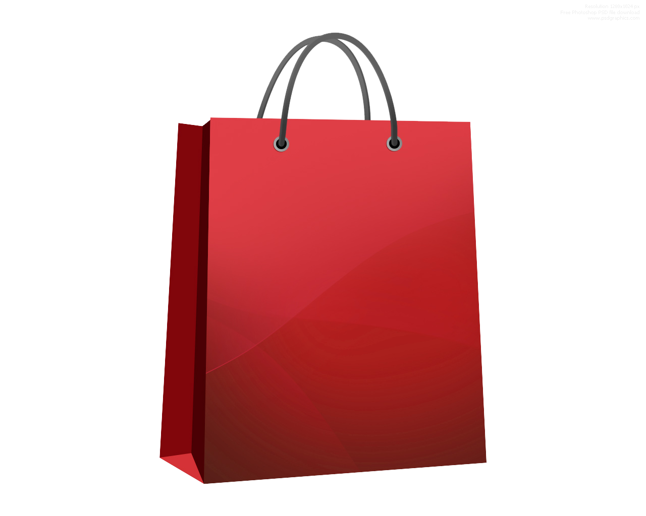 Shopping Bag PNG Transparent Images.