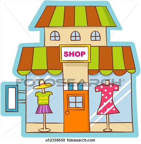 Shop images clip art.