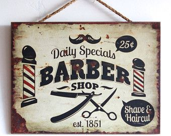 17 Best ideas about Barber Shop Decor on Pinterest.