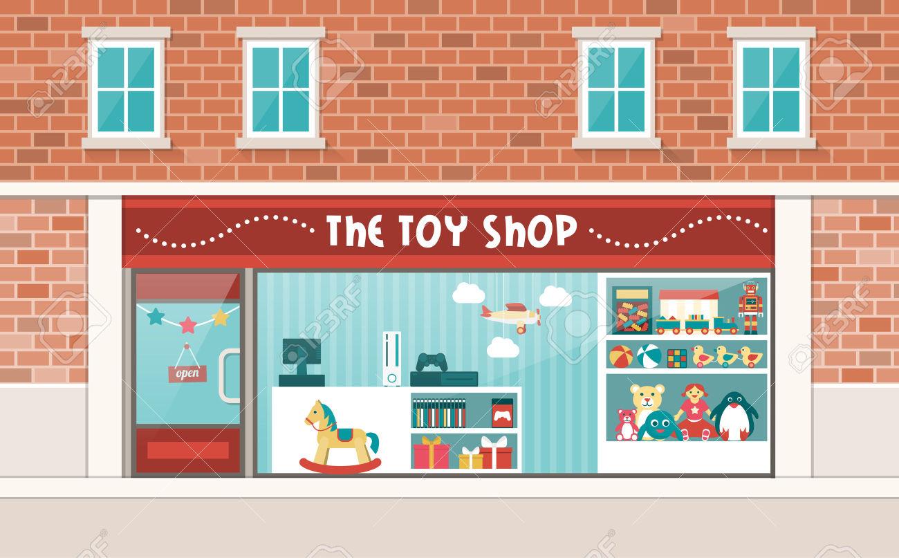 Clipart toy shop.