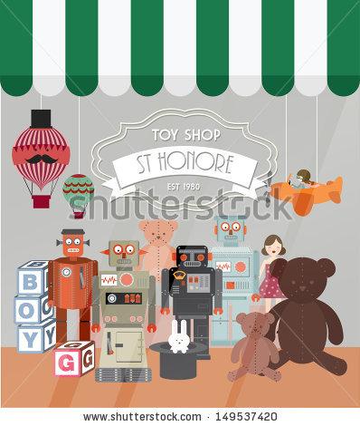 Toy Shop Stock Photos, Royalty.