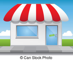 Shop front Stock Illustration Images. 9,492 Shop front.