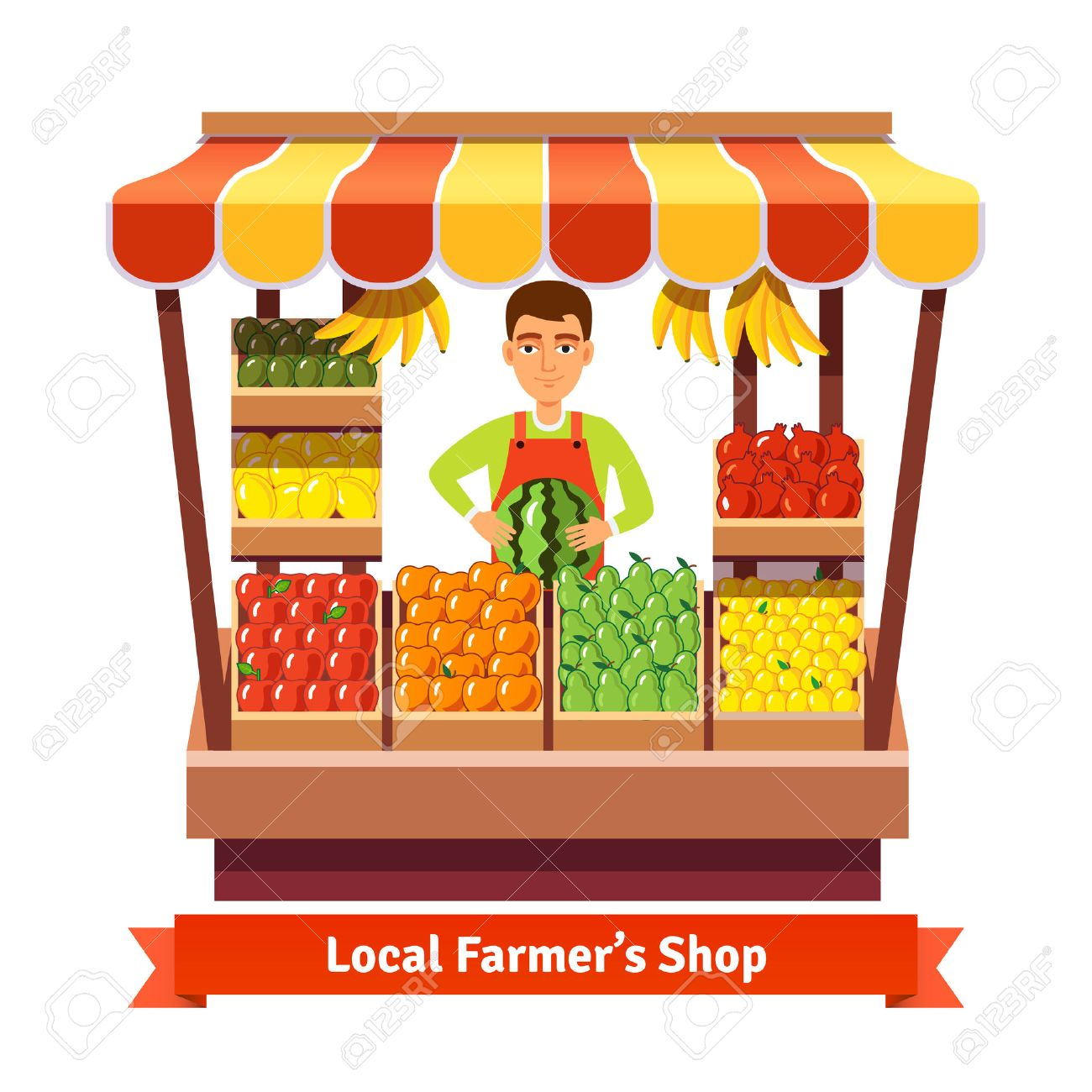 Fruit Shop Clipart.