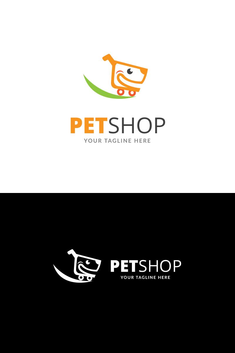 Pet Shop Logo Template.