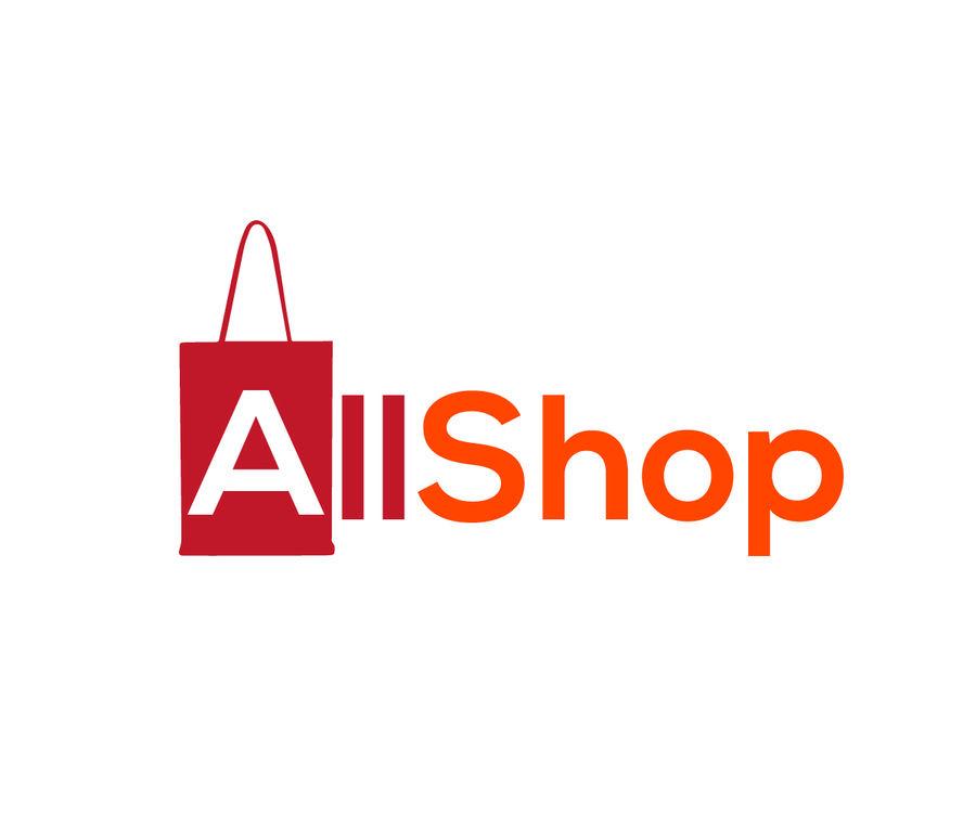 Entry #48 by BrightAsif for Online shop logo design.