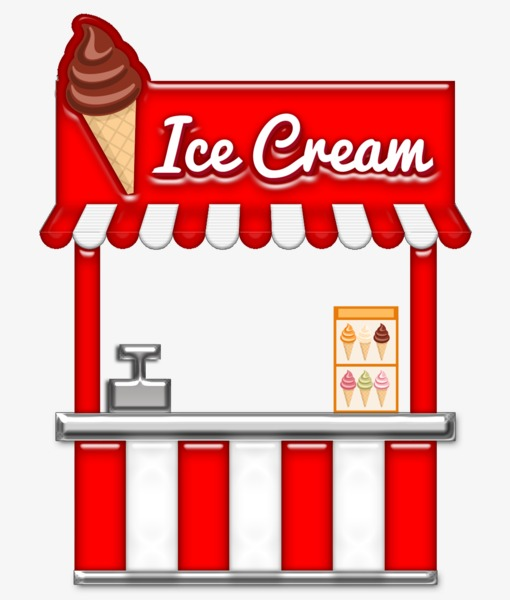 Ice cream shop clipart 7 » Clipart Station.