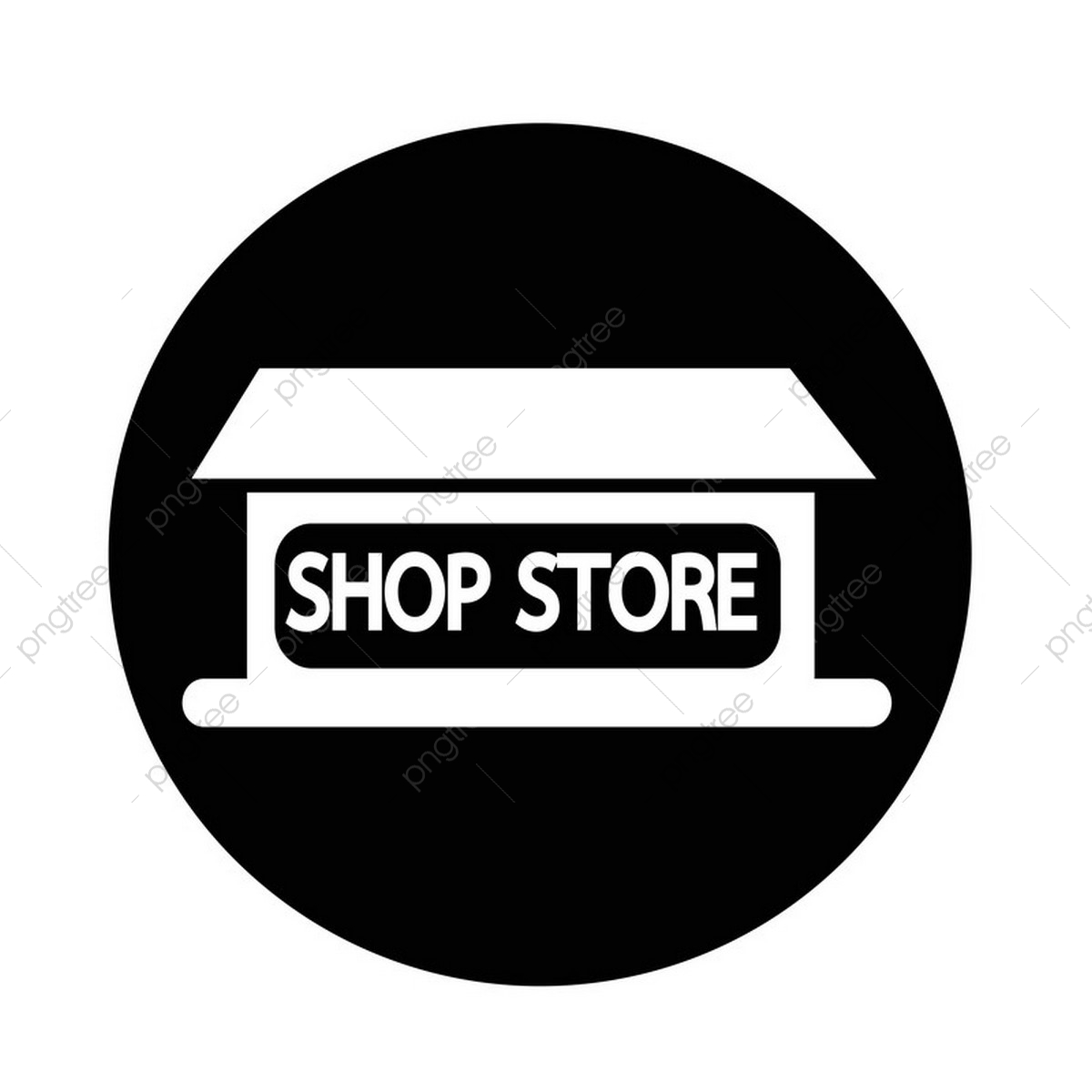 Shop Store Icon, Store, Icon, Front PNG and Vector with.