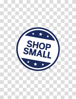 Small Business Saturday transparent background PNG cliparts.