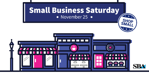Shop Small in Your Community This Small Business Saturday.