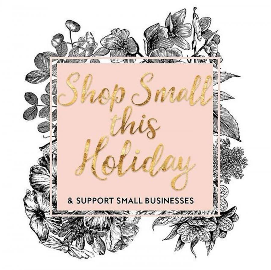 Shop Small Saturday.