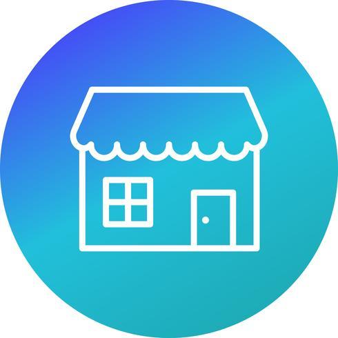 Shop Vector Icon.