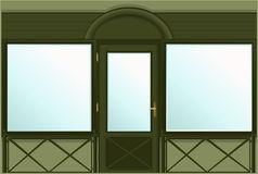 Show Window Shop Stock Illustrations.
