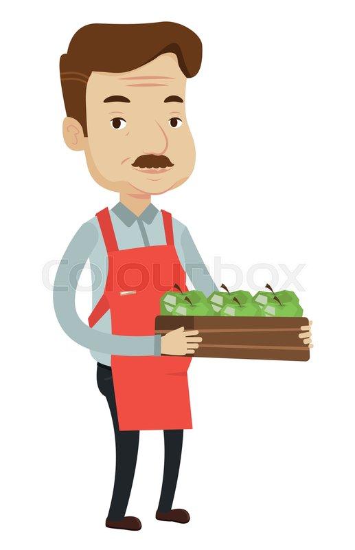Shop Worker Clipart.