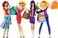 Free Shopaholic Clipart and Vector Graphics.