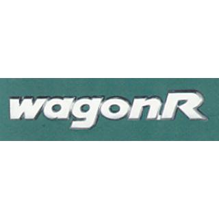 MARUTI SUZUKI Wagonr Car Monogram Chrome Monogram Emblem LogO.
