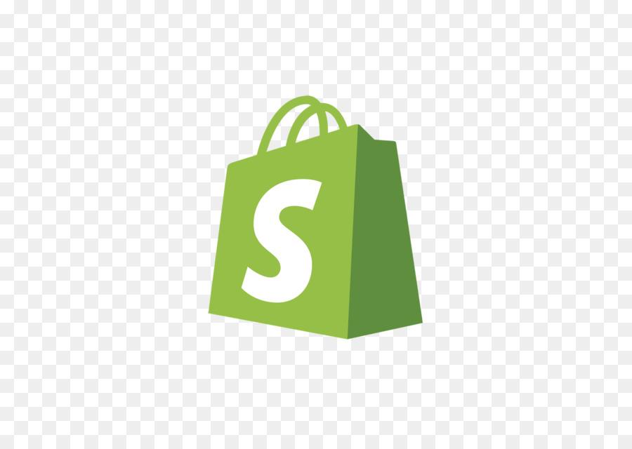 Shopify Logo clipart.