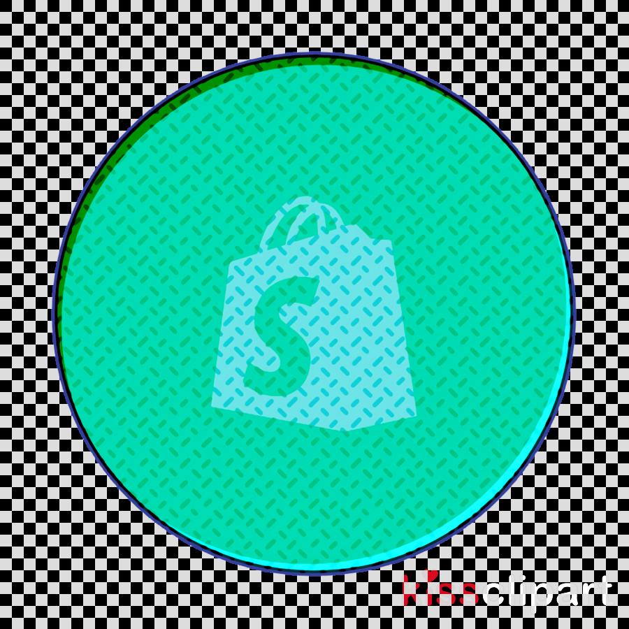 shopify icon social icon clipart.