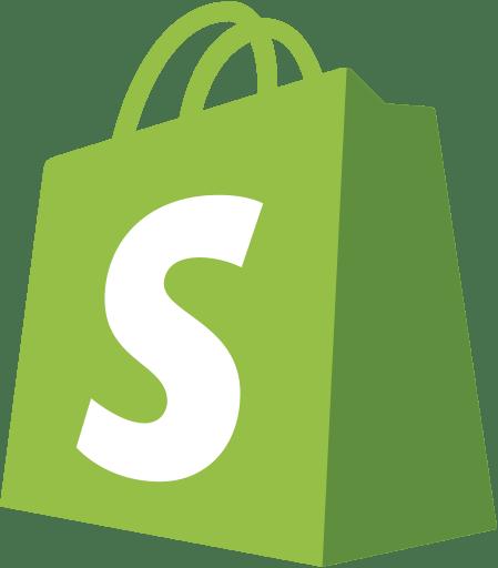 Shopify Logo transparent PNG.