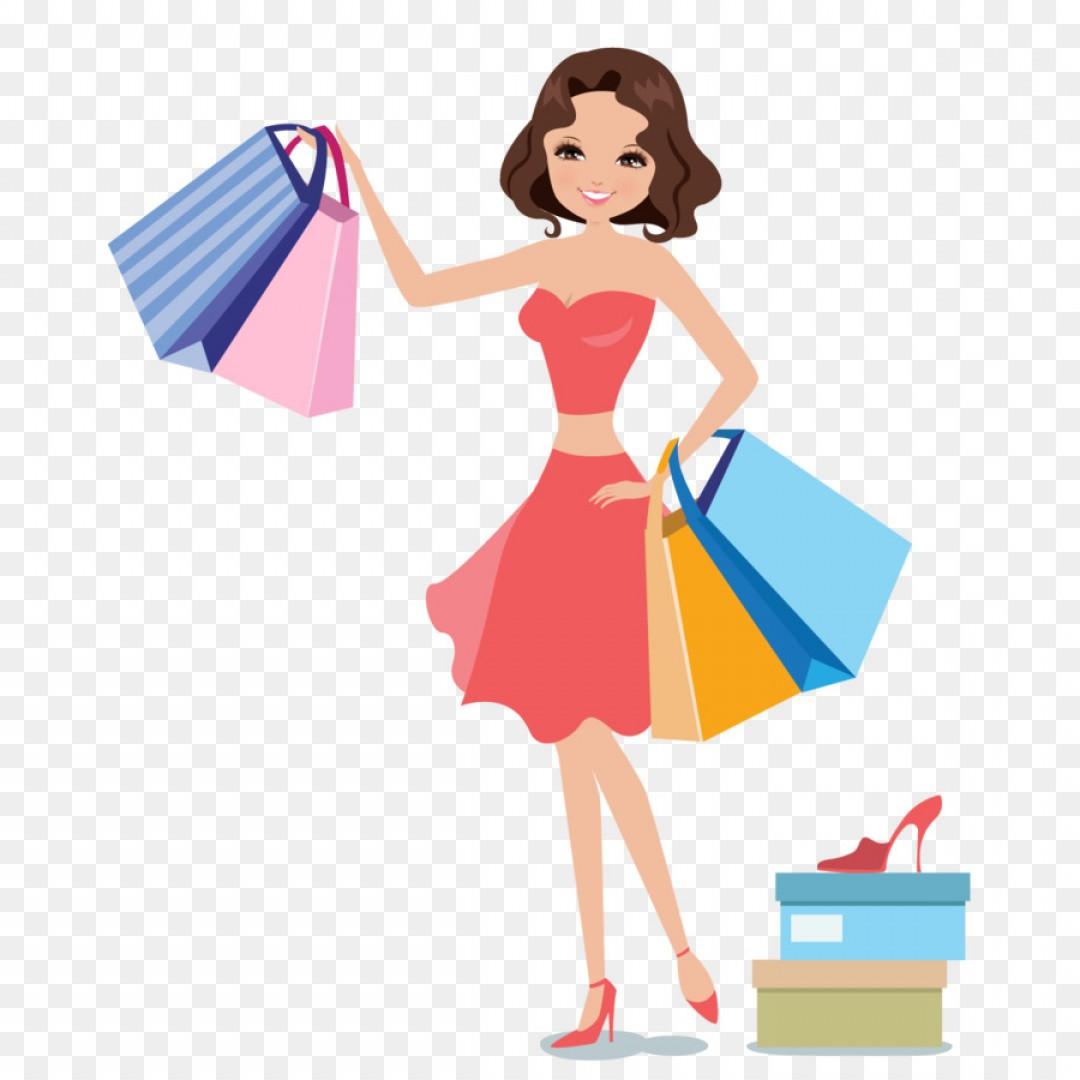 Png Shopping Woman Icon Women Shopping Vector.