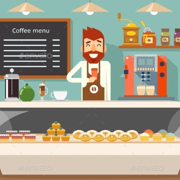 Shopkeeper Graphics, Designs & Templates from GraphicRiver.