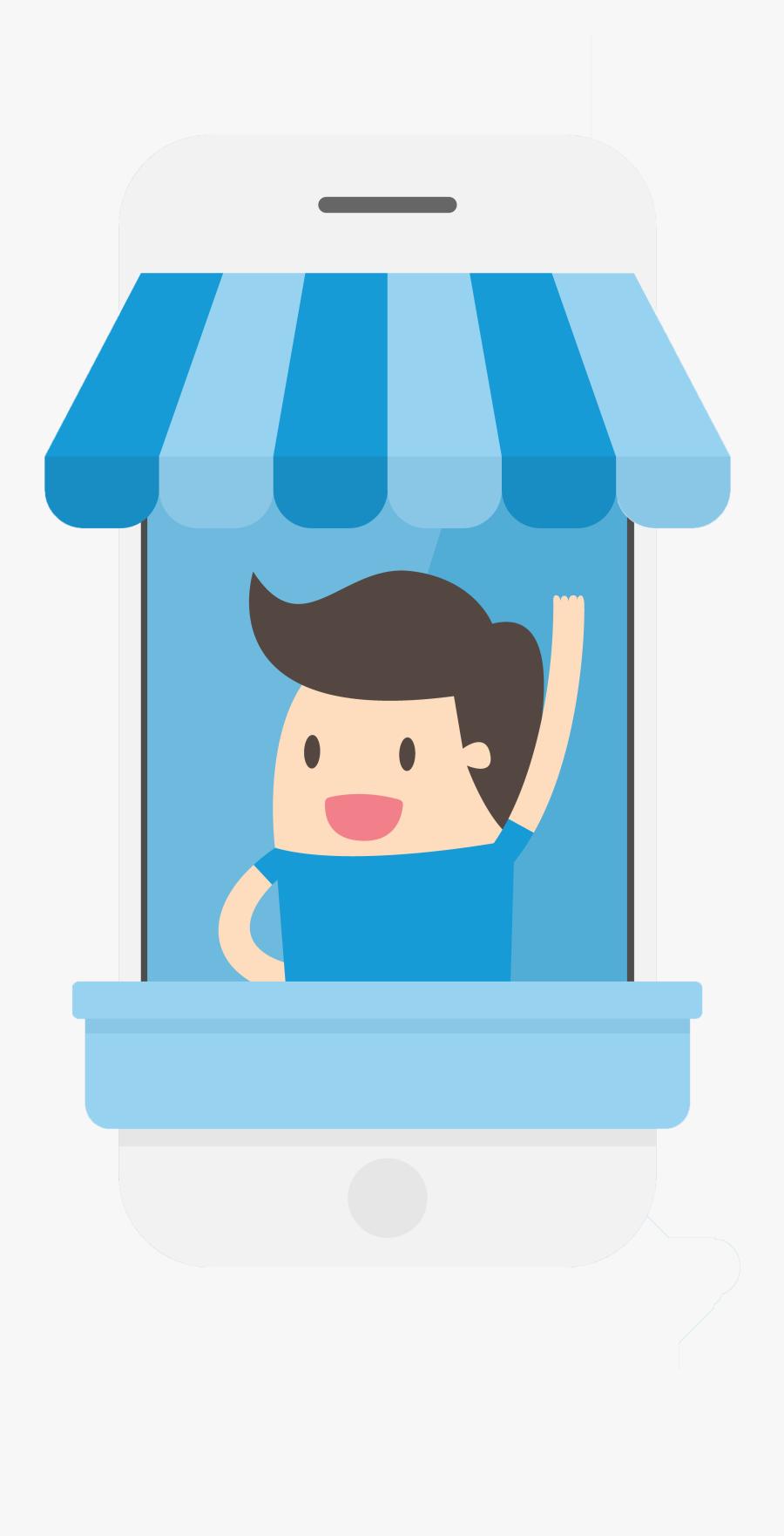 Shopkeeper Cartoon , Free Transparent Clipart.