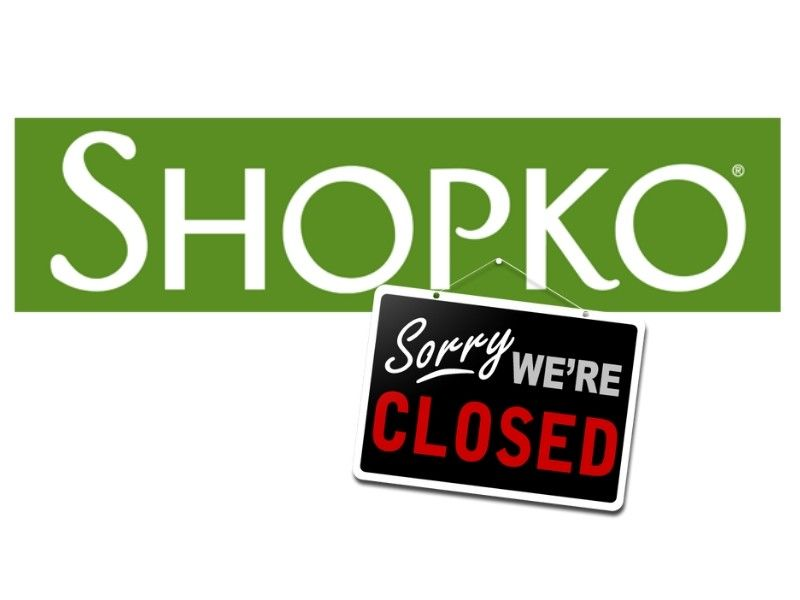 Shopko Closing All Remaining Stores.