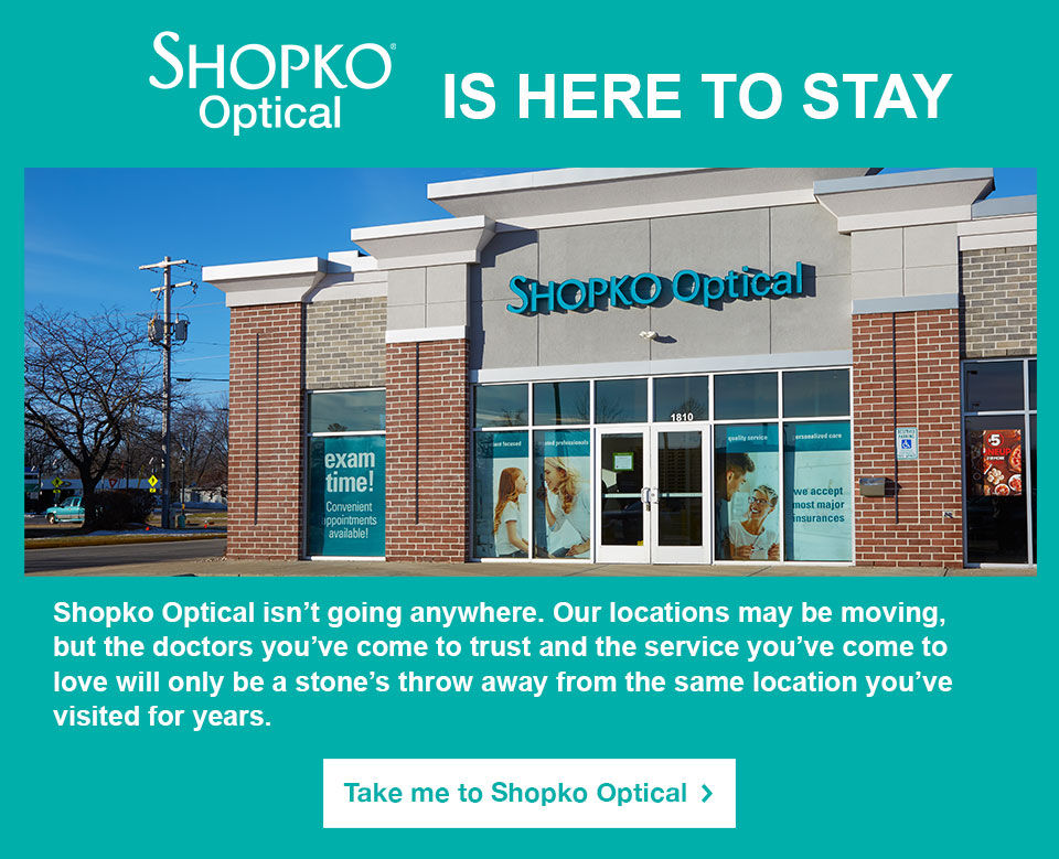 Shopko Optical is here to stay.