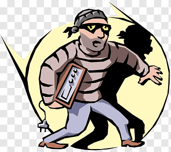 Shoplifter cutout PNG & clipart images.