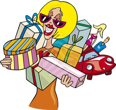 Shopper clipart free.