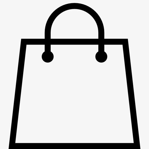 Shopping bag clipart black and white 5 » Clipart Station.