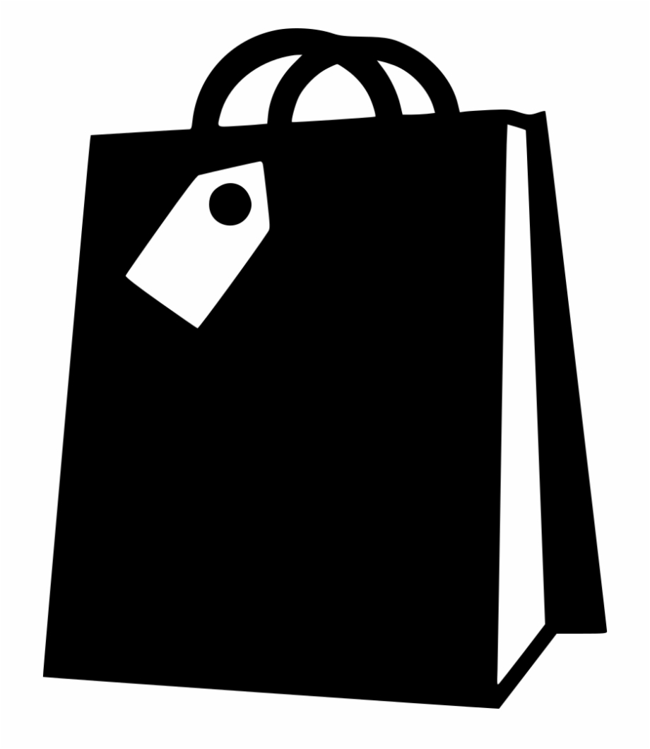 Free Shopping Bag Clipart Black And White, Download Free.