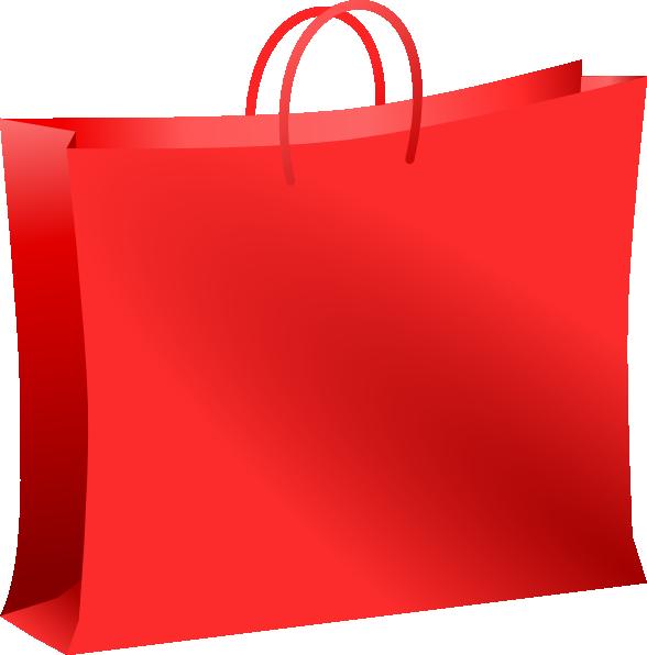 Red Shopping Bag Clip Art at Clker.com.