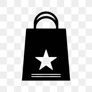Shopping Bag PNG Images.