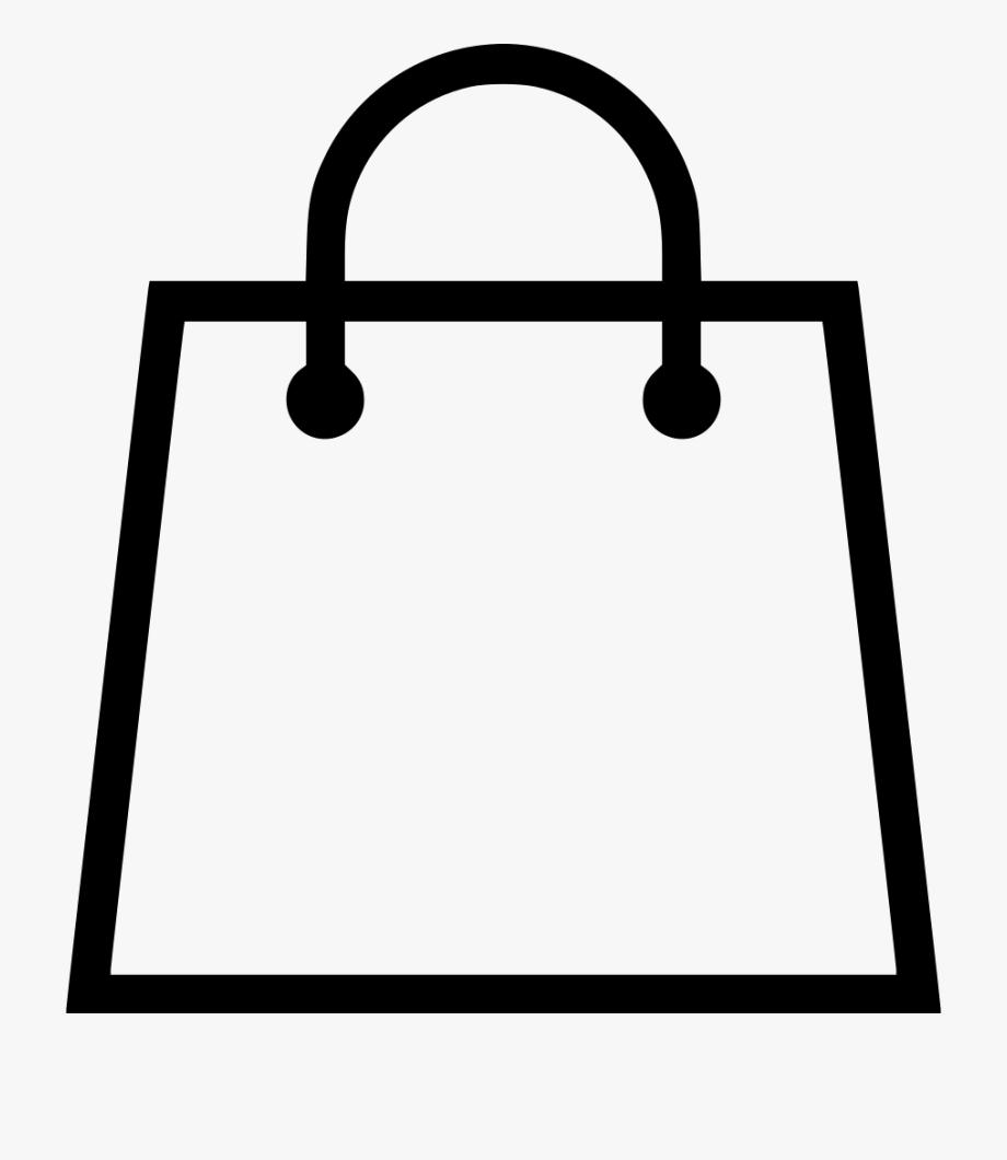 Shopping Bag Vector Svg Png Icon Free Download.