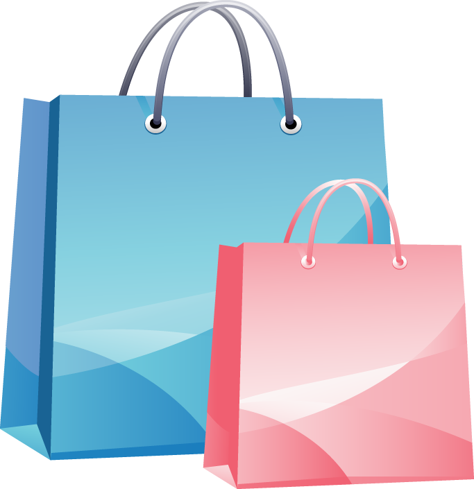 Download Shopping Bag Clip Art PNG 359.