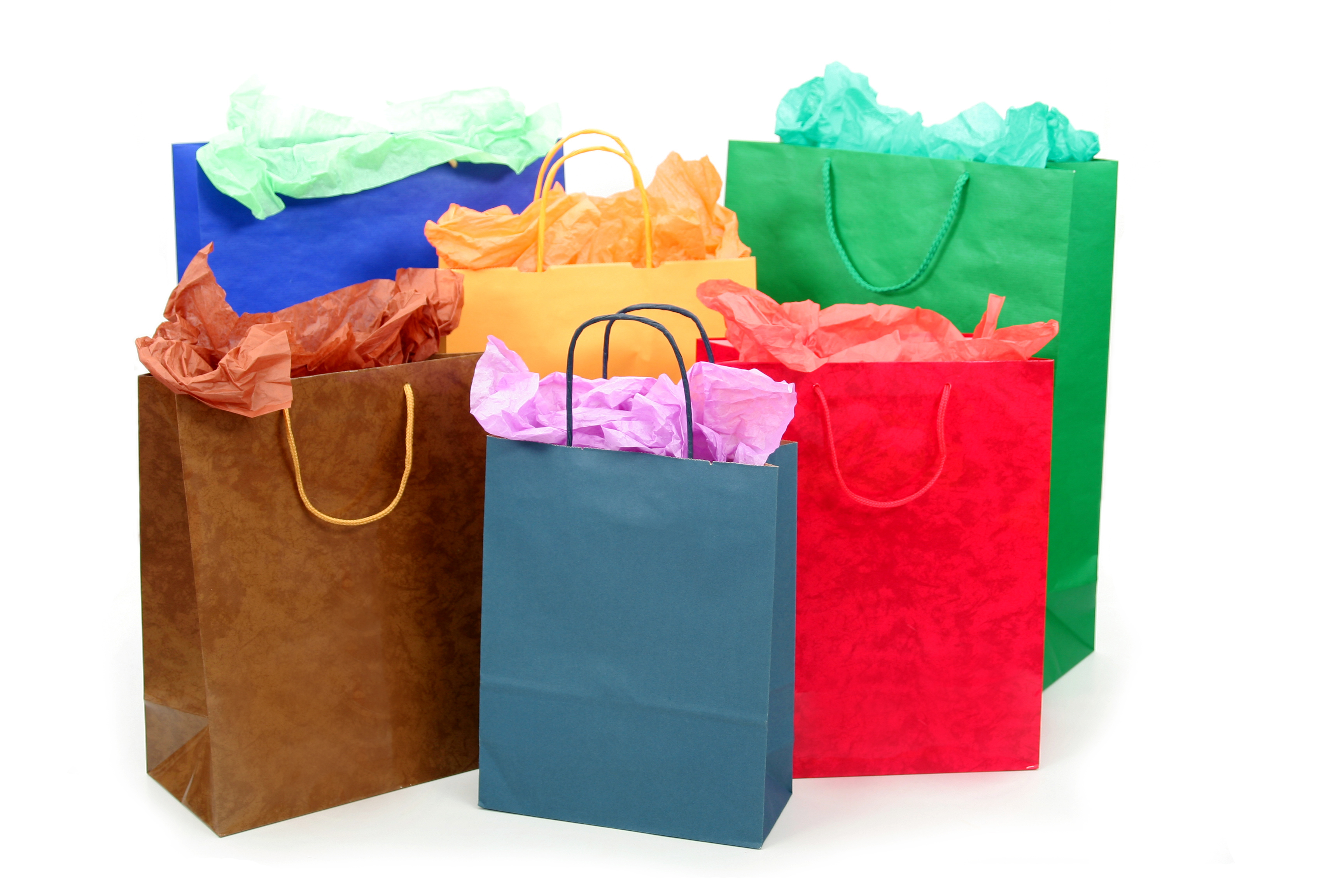 Shopping bags shopping bag clipart 3.
