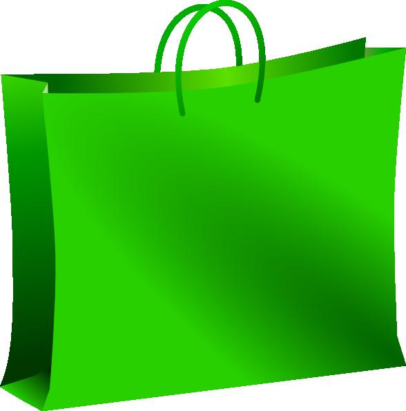Plastic Shopping Bag Clipart.