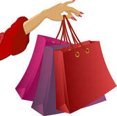 Clipart Of Shopping Bags.