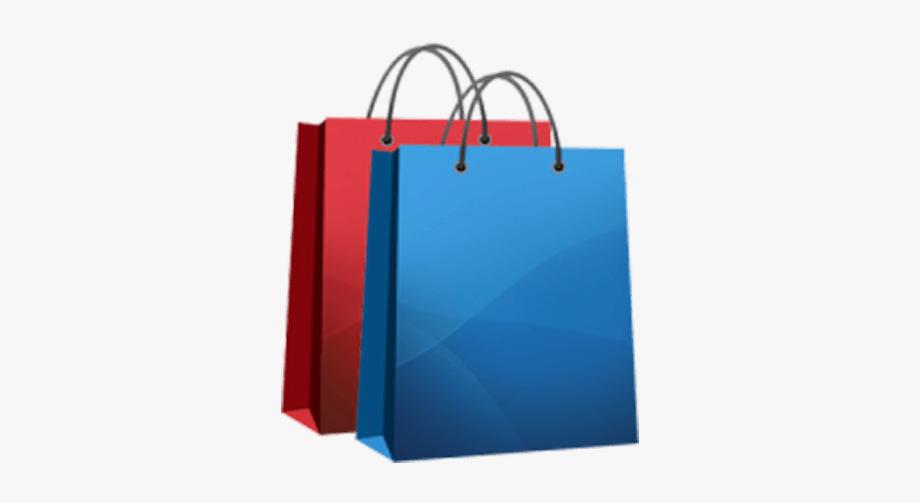 Shopping Bag Clipart Cartoon.
